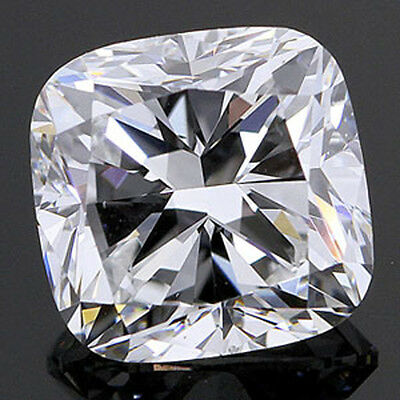 10 ct Cushion Vintage Top Russian Quality CZ Extra Facets and Brilliant 12x12