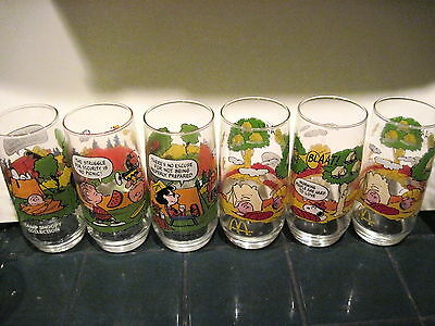 6 Camp Snoopy Collection Tumblers