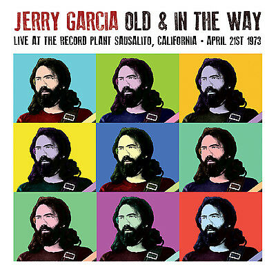JERRY GARCIA - Old & In The Way - Live At The Record Plant Sausalito CA. New LP