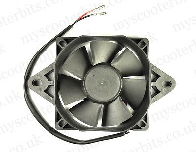 Universal 12V Electric Radiator Cooling Fan for Quad ATV Trike Motorcycle Buggy