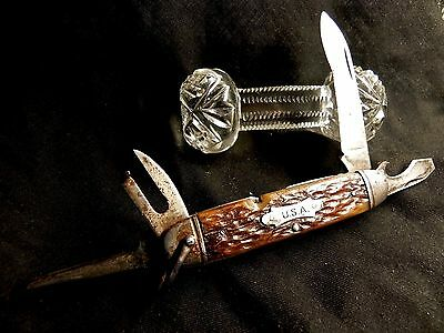 Rare Early 1940's Camillus Camping Knife Buy It Now Offer
