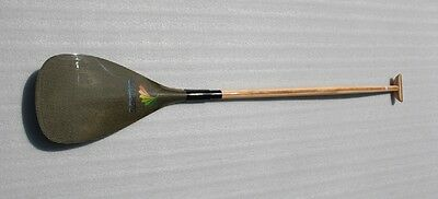 ZJ SPORT Lightweight Outrigger Canoe OC Paddle With Kevlar Blade And Wood Shaft