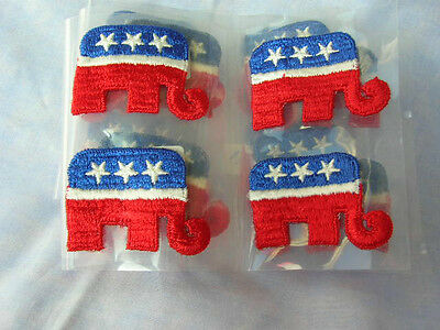 Republican Elephant Logo Fabric Decals