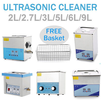 3L 6L 9L Dentaire Nettoyeur à ultrasons Ultrasonic Cleaner Wideused Stainless