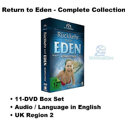 Return to Eden - Complete Collection (1983 & 1986) - 11-DVD Box Set Wendy DVD