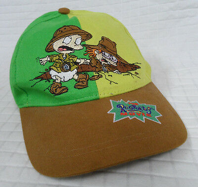 RUGRATS The MOVIE Green BASEBALL Hat YOUTH Adjustable Cap 1998 Nickelodeon CLEAN