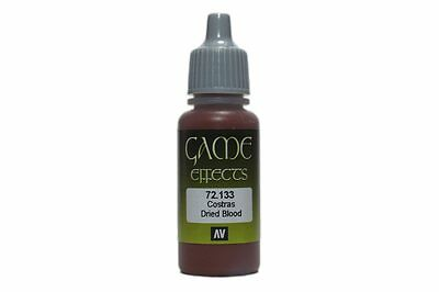 VALLEJO Game Color Effects 72.133 Sang Sec – Dried Blood 17ml