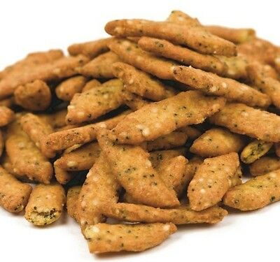 """Everything"" Sesame Sticks - Free Expedited Shipping - A great snack food!"