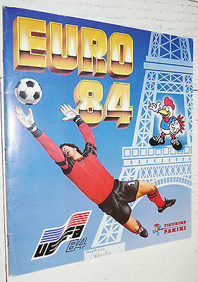 Album Panini Complet Euro 84 Football Championnat Europe Nations 1984 Tbe