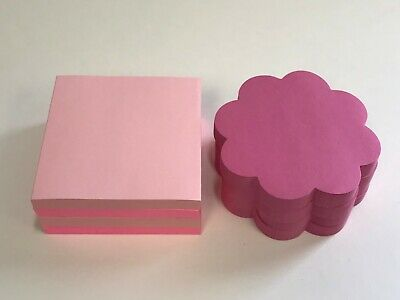 8 Pads Post-it Pop-up Notes, 3 x 3,  Pink Variety, 75 Sheets Each