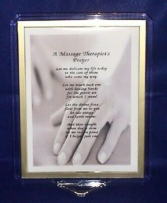 Massage Therapist's Prayer Print  Personalized!!