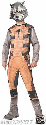 Guardians of the Galaxy Rocket Racoon Costume Child size 8-10