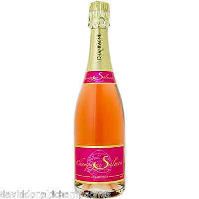 Fine French Import Wine & Champagne - SALMON 100% MEUNIER BRUT ROSE NV - 92pts
