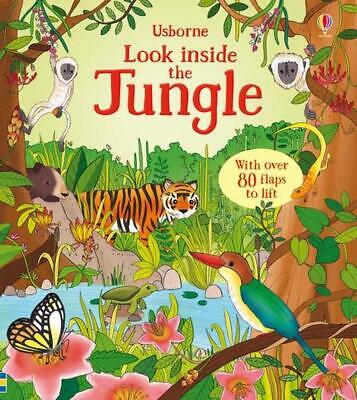 Look Inside the Jungle by Minna Lacey Board Books Book Free Shipping!