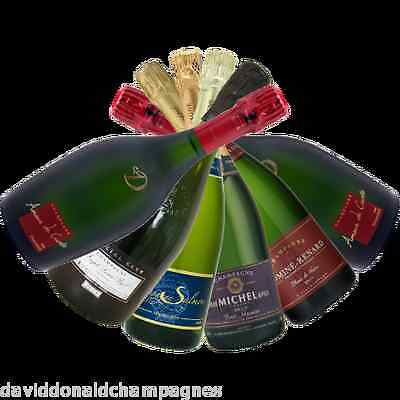 Fine French Mixed Champagne BLANC DE NOIRS TASTING PACK - 6 Bottles Of The Best!