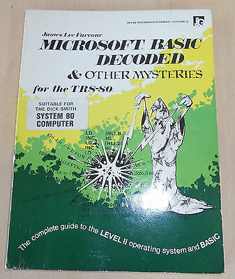 TRS-80 Microsoft Basic Decoded and other mysteries book