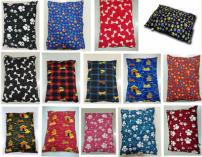 Dog Bed Removable Zipped Cover Large Size Washable Pet Cushion Cover