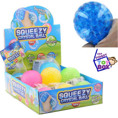 Gel bead ball sensory toy fidget anxiety autism stress relief therapy classroom