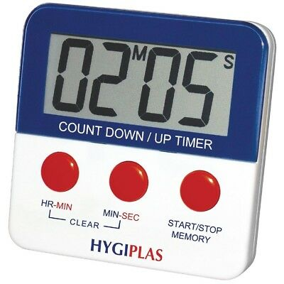 Hygiplas Magnetic Countdown Digital Timer Kitchen Cooking Food Preparation