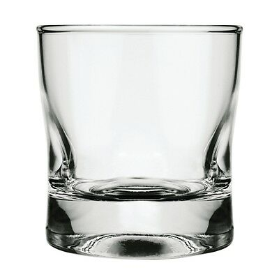 24x Nadir Manhattan Old Fashioned Tumblers 240ml Drinking Glasses Restaurant Bar
