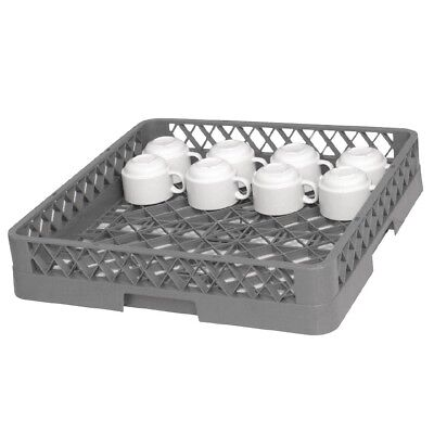 Vogue Dishwasher Rack - Open Cup Kitchen Cleaning Washing Rinsing Drying