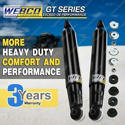 2 Rear HD Webco Ultra Shock Absorbers For HOLDEN COMMODORE VZ SEDAN ALL ARE IRS