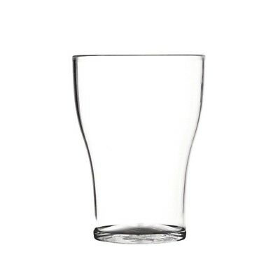 50x Polycarbonate Washington Glasses 200ml Cocktail Drinking Tumblers Restaurant