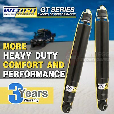 2 Rear HD Gas Webco Pro Shock Absorbers HOLDEN COMMODORE VT VX VX2 VY WAGON