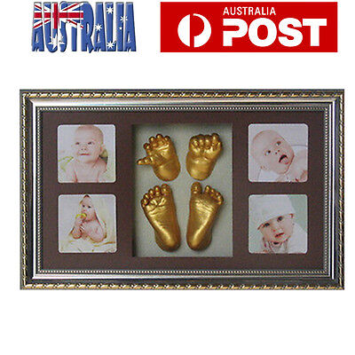 DIY Baby Casting Kits 3D Hand Foot Print Newborn Infant Unique Keepsake 100%Safe