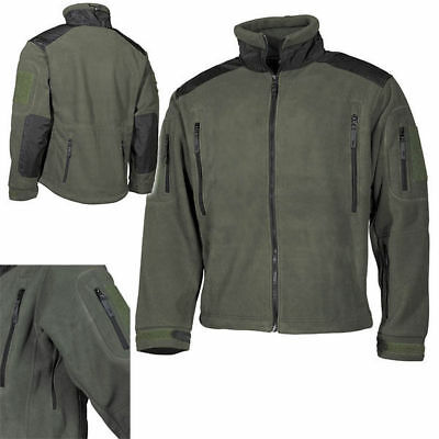 wasserdichte Task Force Fleece Jacke Tactical Kommando BW Kälteschutz FschJg