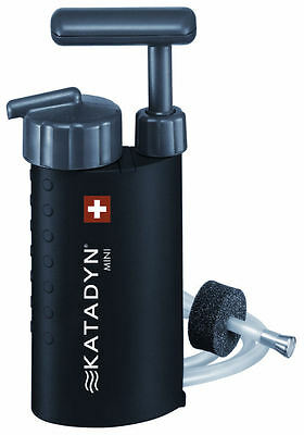 Katadyn Mini Compact Water Filter for Travel, Outdoors, Yacht & Camping