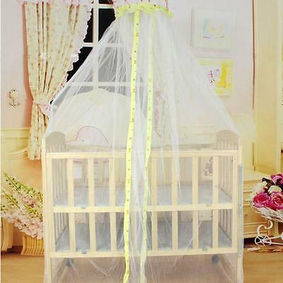 Summer Baby Toddler Cute Bed Mosquito Mesh Dome Curtain Net Crib Cot Canopy