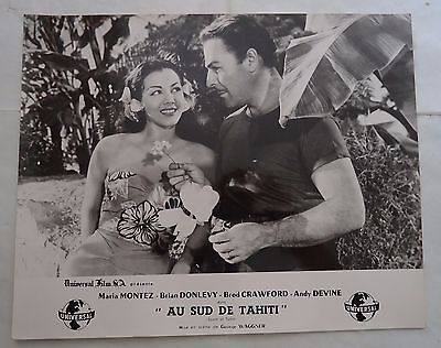 MARIA MONTEZ/SOUTH OF TAHITI//french photo-lobby