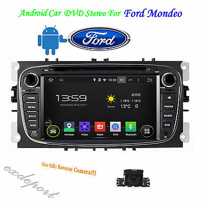 Car Stereo For Ford Focus S-max Mondeo Galaxy Kuga DVD GPS Navi Multimedia + Map