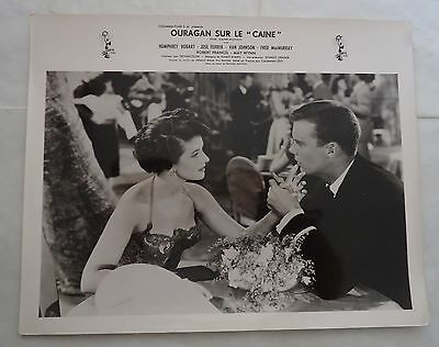 ROBERT FRANCIS+MAY WYNN/THE CAINE MUTINY/french photo-lobby