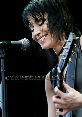 Joan Jett Poster Size Photo 12x18 inch 2010 Manchester UK Live Concert Print s41