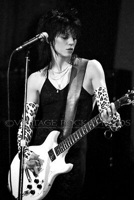 Joan Jett Poster Size Photo 20x30 in 80's Live Concert Pro Lab Studio Print 34
