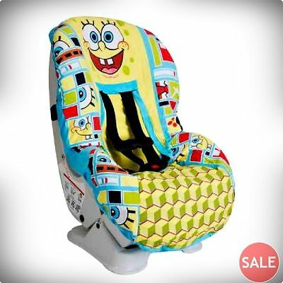 Baby Kids Car Seat Cover Spongebob Toddler Child Infant Fit Water Resistant New