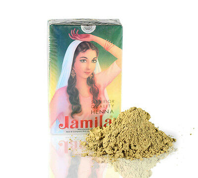 1x100g Jamila Henna Powder Summer crop 2016 Body Art Quality (Latest Crop)