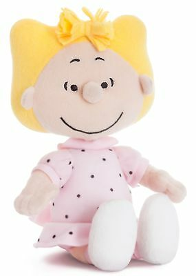 "PEANUTS 10"" Sally Plush Cuddly Soft Toy Teddy by AURORA Charlie Brown/Snoopy"