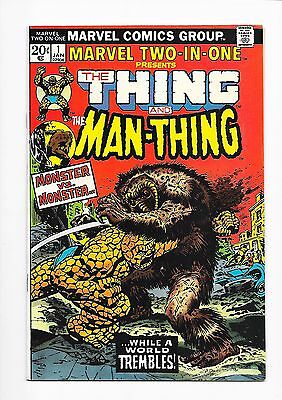 Marvel Two-In-One  #1  9.2  Nm-  One Owner!  Nice Pages!  $95.00 Guide Value!