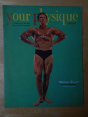 YOUR PHYSIQUE bodybuilding muscle magazine/MALCOLM BRENNER 5-51