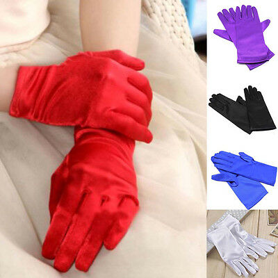Bridal Dressing Prom Short Gloves Finger Wedding Party Dress Costume Accessories