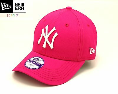 NEW ERA ADJUSTABLE 9 FORTY CAP for KIDS. NY YANKEES. PINK. Different sizes