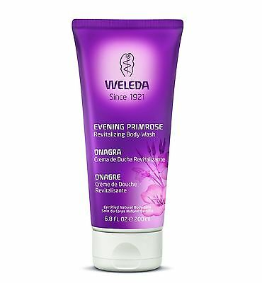 3 Packs of Weleda  Evening Primrose Oil Revitalising Body Wash 200ml