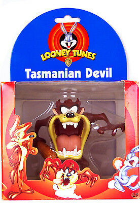 Warner Brothers - Looney Tunes Cast Resin Figure 9cm Tasmanian Devil with Club
