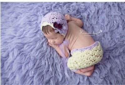 Newborn Baby Girls Boys Crochet Knit Costume Photo Photography Prop Outfits#74