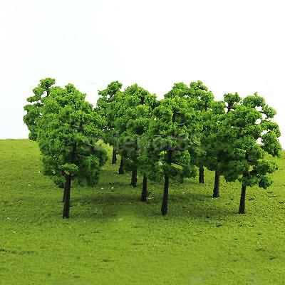 20 Model Trees Train Railroad Diorama Wargame Park Scenery HO OO Scale 1:100