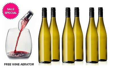 Clean Skin 2012 Watervale Riesling 12-750ml Bottles + Free Wine Aerator