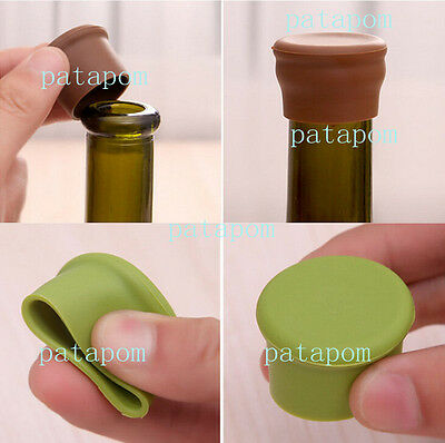 Mini Silicone Wine Beer Cover Bottle Cap Stopper Beverage Home Kitchen Bar Tools